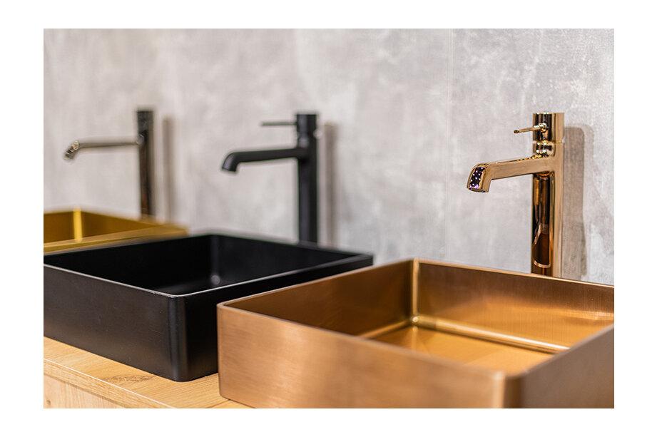 Stalowe umywalki do łazienki – postaw na innowacyjność